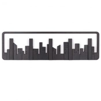 Вешалка настенная Skyline | чёрная