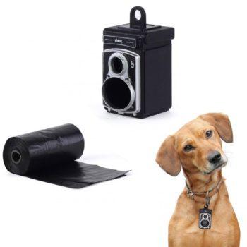 Подвеска-сейф для ошейника Rolldog | черная