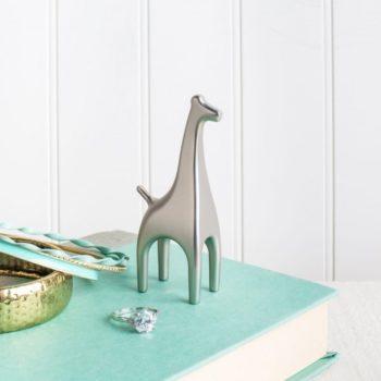 Подставка для колец Anigram жираф | никель