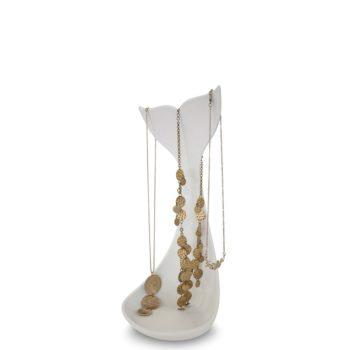 Подставка для ожерелий Whale | белая