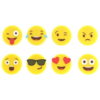 Набор маркеров для стаканов Emoji 8 шт. | разноцветный