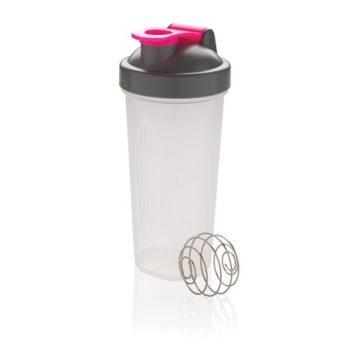 Шейкер спортивный LOOOQS 800 мл | розовый