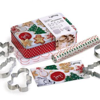 """Набор """"Рождество"""" для выпечки печенья Lekue"""