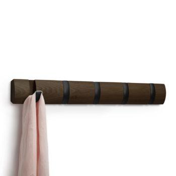 Вешалка настенная Flip 5 крючков | орех