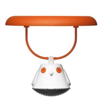 Емкость для заваривания чая с крышкой Birdie Swing | оранжевый