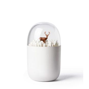 Контейнер для ватных палочек Deeryard | белый