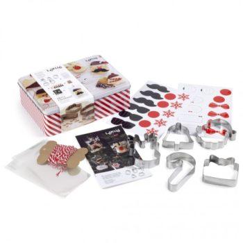 """Подарочный набор Lekue """"Рождество"""" для выпечки печенья"""