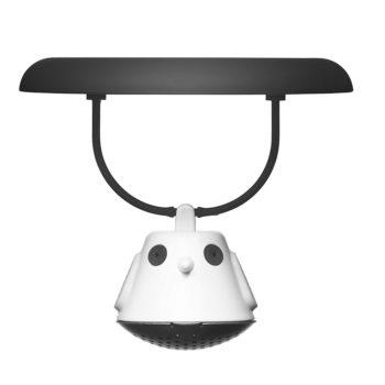 Емкость для заваривания чая с крышкой Birdie Swing | черный