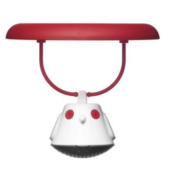 Емкость для заваривания чая с крышкой Birdie Swing | красная