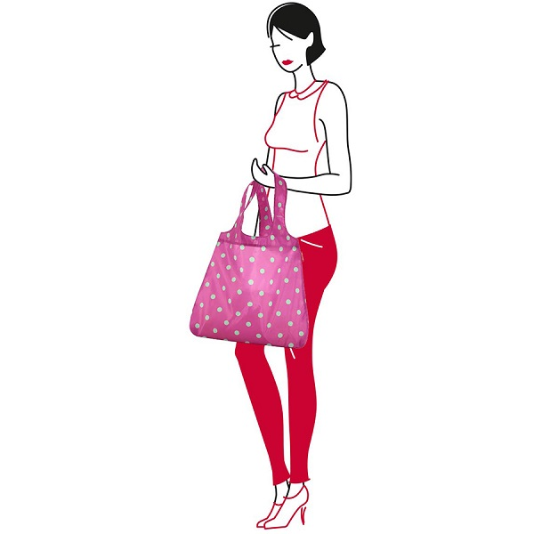 Сумка складная mini maxi shopper | magenta dots