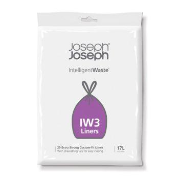 Пакеты для мусора IW3™17л (20шт)