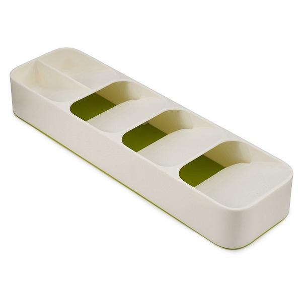 Органайзер для столовых приборов drawerstore компактный   белый