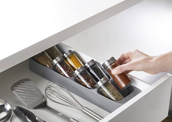 Органайзер для специй drawerstore | серый