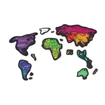 Скретч карта мира Travel Map Magnetic World